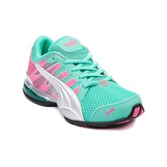 Shop for YouthTween Puma Voltaic Athletic Shoe, Mint Pink, at Journeys Shoes. Stylishly comfy and ready to take on any activity, the Voltaic from Puma  features a reflective syntheticmesh upper and comes complete with iCell cushioning and a durable rubber outsole for all day traction.