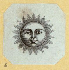 Suns, wreathes, foliage, and other images. Sun And Moon Tarot, Sun Moon, Sun Illustration, Ink Illustrations, Vintage Nautical Tattoo, Witchy Wallpaper, Stippling Art, Sun Tattoos, Sun Art