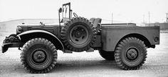 Prototype low profile Dodge WC-52