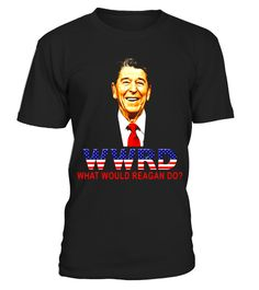 "# WWRD What Would Reagan Do? 40th President Funny T-Shirt .  Special Offer, not available in shops      Comes in a variety of styles and colours      Buy yours now before it is too late!      Secured payment via Visa / Mastercard / Amex / PayPal      How to place an order            Choose the model from the drop-down menu      Click on ""Buy it now""      Choose the size and the quantity      Add your delivery address and bank details      And that's it!      Tags: This Funny T-Shirt is sure…"