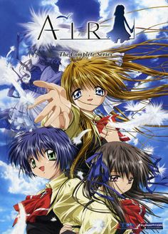 Air TV. It's one of the first anime's I've ever seen, but I still get goosebumps when I listen to the opening.   So good.