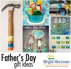 Father's Day gift ideas - fun kids activities and ideas to show Dad some appreciation!