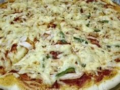 Hawaiian Pizza, Vegetable Pizza, Quiche, Mashed Potatoes, Cheese, Vegetables, Breakfast, Ethnic Recipes, Food