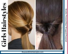 Top Girls Hairstyles - Adorable girls hairstyles are trending now because of the moms. Learn now about the top girls haistyles. Voluminous Ponytail, Ponytail Girl, Half Ponytail, Twist Ponytail, Loose Side Braids, Side Ponytails, Girl Haircuts, Messy Hairstyles, Braiding Your Own Hair
