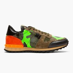 985ac427f7da Camouflage Sneaker by Valentino.  MensFashion  MensSneakers Studded Sneakers