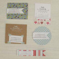 Little Hannah: Tarjetas de visita handmade (II)