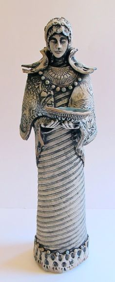 Figures - Teresa Brooks Pottery |Pinned from PinTo for iPad|
