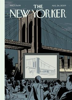 It's Nice That : Where print meets digital – In praise of The New Yorker's Cover Story feature