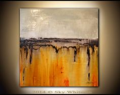 Original Abstract Painting Large Modern by originalmodernart