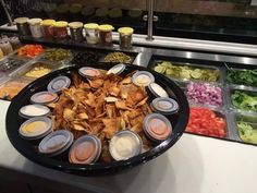 Our party bowls of pita chips are perfect for any occasion! Cottage Party, Pita Pit, Office Snacks, Calorie Calculator, Healthy Snacks, Healthy Recipes, Greek Chicken, Paella, Catering
