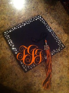My grad cap from High School graduation