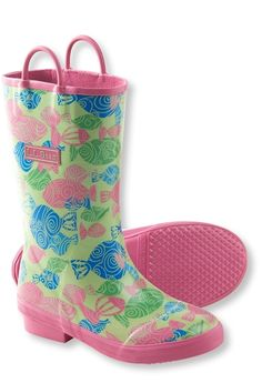 Kids' Puddle Stompers Rain Boots, Print from L.L.Bean on Catalog Spree, my personal digital mall.
