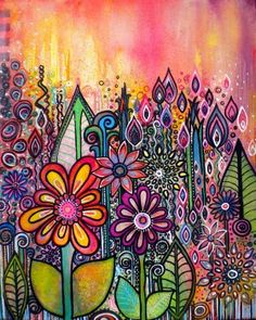 life in Color Art ideas