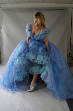 """Detalles sobre la confección del vestido de Cenicienta: """"El más impresionante"""" para los espectadores (+fotos)"""