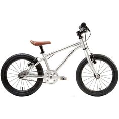 Amazon.com : Early Rider Belter Complete Kids' Bike - 2016 Silver, 16in wheel : Sports & Outdoors