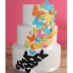 Maak een prachtige vlinder taart met ons recept. Recept van Deleukstetaartenshop.nl