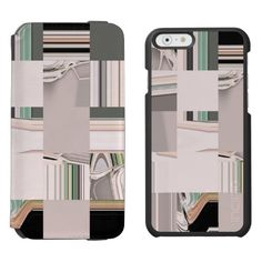 Abstract Art Tiled / Incipio Watson™ iPhone 6, 2-in-1 Wallet Case + Interior Case! By FOMAdesign