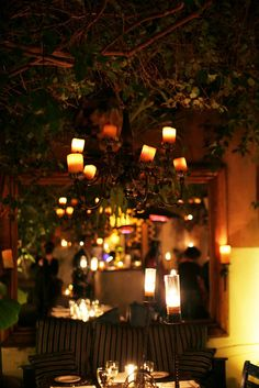 The Little Door.  LA.  One of the best patios in LA.  Very romantic.