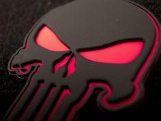 Punisher Pirate Flag | The Punisher Skull Devgru Pvc Rubber Velcro Patch Red Black Ebay