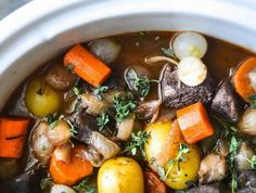 Slow Cooker Beef Bourguignon Stew – Weight Watchers Recipes