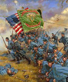 Irish Brigade advances
