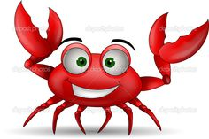 crab cartoon - Google Search