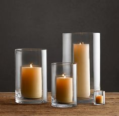 Malta Hurricane - modern - candles and candle holders - - by Restoration Hardware