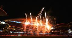 Welcome 2015! New Year's Eve celebrations from Adelaide, Australia.  Fireworks are seen during celebrations for New Years Eve after the Big Bash League match between the Adelaide Strikers and the Hobart Hurricanes at Adelaide Oval.