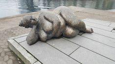 Gudinna i Lena Lerviks skulpturgrupp