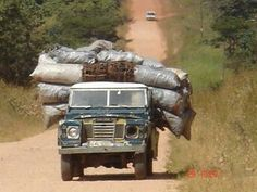 Land Rover Series III in Africa