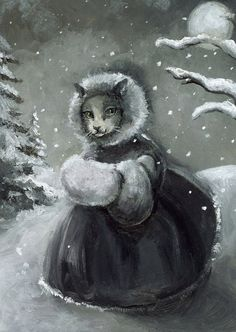 Winter Stroll by Amber Alexander