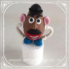 Mr Potato Head Cake Topper #mrpotatoheadcaketopper