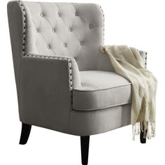 Found it at Joss & Main - Carter Tufted Arm Chair