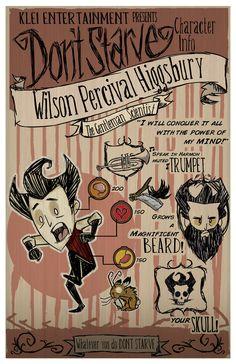 Don't Starve- Wilson by MedicApprentice on DeviantArt