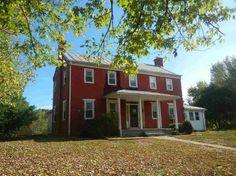 Elkton, VA – $185,000 | Old House Dreams Rockingham County, Old Houses For Sale, Entry Hallway, Old House Dreams, Second Floor, Laundry Room, Virginia, Brick, Farmhouse