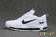 d96d9e4a6f02 off white x nike air max 97 joint second generation boutique plastic KUP  mens shoes 40