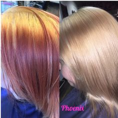 Colour correction day!  Only 1 process of bleach to achieve this.