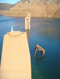 Giclee Photo Print Drought The California Aqueduct Water
