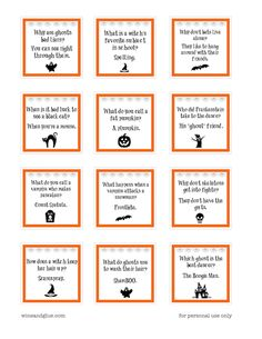 These Halloween Lunch Box Jokes will have your kids cracking up all fall! Available as a PDF or Silhouette print and cut files. These Halloween Lunch Box Jokes will have your kids cracking up all fall! Available as a PDF or Silhouette print and cut files. Halloween Jokes, Halloween Kids, Halloween Treats, Happy Halloween, Halloween Party, Halloween Costumes, Creepy Halloween, Halloween 2020, Halloween Stuff