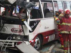 """Empresa de transporte el """"Chosicano"""" han provocado numerosos accidentes viales en Lima Foto: Gentileza"""