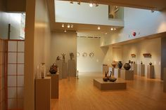 Rourke Art Museum & Gallery is home to permanent collections and temporary exhibits of American, Pre-Columbian, Oriental, African, and Native American art by regional artists.