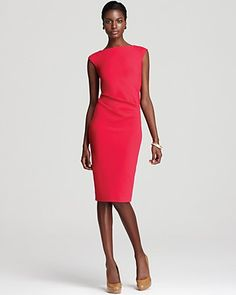 DIANE von FURSTENBERG Suiting Dress - Gabi Cap Sleeve - Contemporary - Bloomingdale's