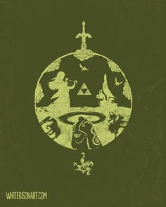 Zelda Anthology by ~Whitebisonart on deviantART