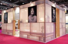 Provital Group Incosmetics 17 London stand 1. Exhibition design.