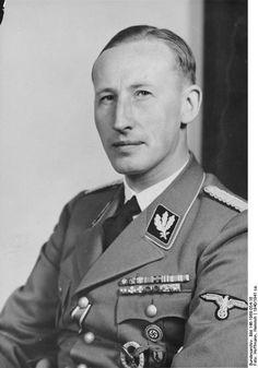 Reinhard Tristan Eugen Heydrich, SS-Obergruppenführer and General der Polizei,