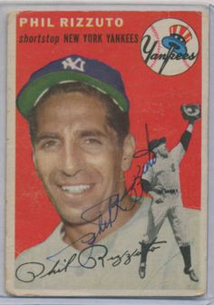 PHIL-RIZZUTO-SIGNED-AUTOGRAPHED-G12012-JSA-DNA-TOPPS-17-CARD-YANKEES #philrizzuto #rizzuto #signedcard #autograph #topps #yankees