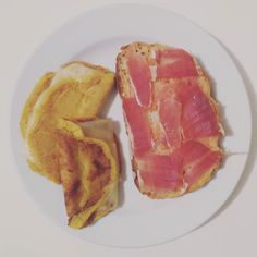 Cachapa de Venezuela y pa amb tomàquet. #chef #cachapa