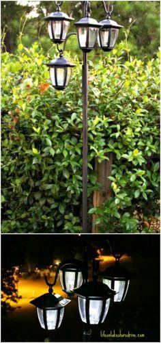 DIY Solar Planter Lantern