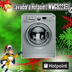 Lavadora 9kg Hotpoint WMG922XEU 1200 rpm A++ INOX