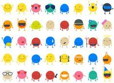 Spot.IM Stickers on Behance